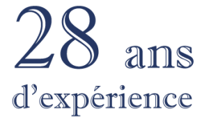 28 ans d'experience